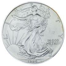 1994 Silber American Eagle Ausgewählten von ICG As MS69 ! Atemberaubend Adler image 3