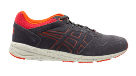 ASICS Gel Shaw Runner Dark Grey Men's Suede Fashion Sneakers Size 7.5  - $56.09
