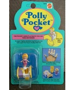 1989 Vintage Polly Pocket Doll Polly's Bedtime Ring NEW & SEALED MOC Blu... - $49.49