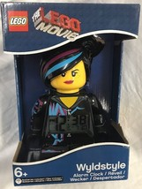 LEGO Movie Wyldstyle Mini-Figure Light Up Alarm Clock 9009969 Wild Style - $39.99