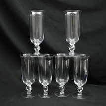 Imperial Glass Ohio Juice Glasses Twist Clear Set of 6 - $41.71