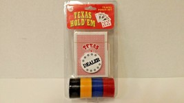 Texas Hold ' Em Travel Poker Set PS02-A Playing Cards FREE SHIPPING - $9.90
