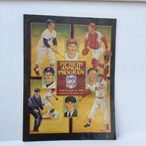 1989 Baseball Hall of Fame Fiftieth 50th Annual Program Bench Yastrzemsk... - $5.95