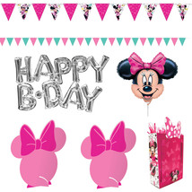 amscan Wall & Table Decoration Kit, Disney Minnie Mouse Happy Helpers Collection - $105.82