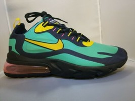 Nike Men Air Max 270 React Trainers Shoes Sneakers Electro Green Mens 12 - $108.90