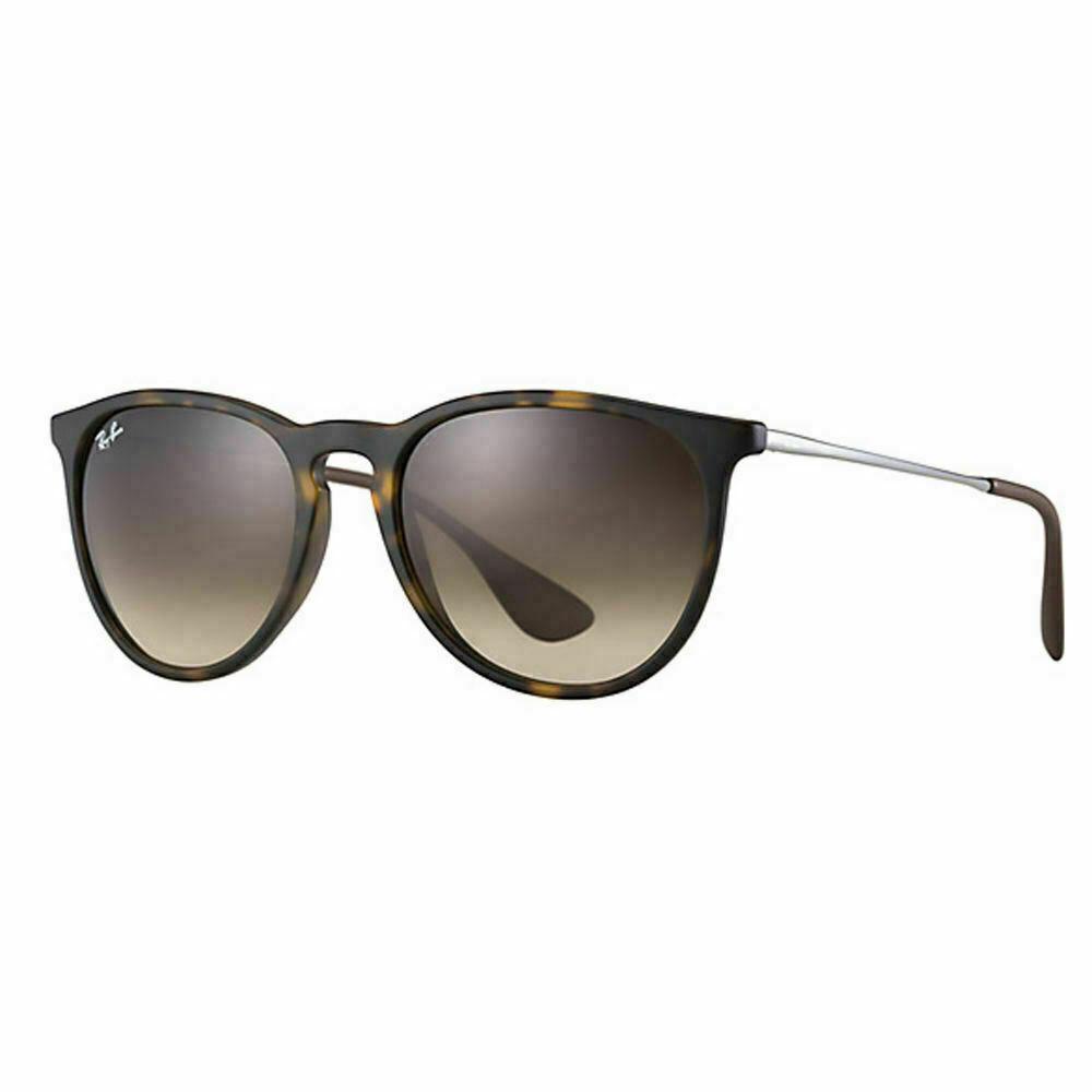 Ray Ban Erika  Sunglasses Tortoise Frame RB4171F 865/13 57 Gradient Brown 57mm - $145.53