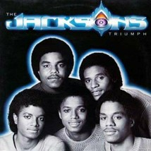 THE JACKSONS - TRIUMPH U.S. LP RECORD 1980 9 TRACKS CAN YOU FEEL IT - $8.95