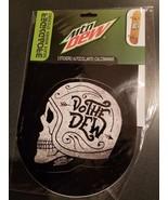 Broadsider Skate Board Stickers Mountain Dew Do The Dew Skull - $9.79