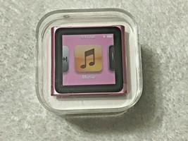 Apple iPod Nano 6th Generation Pink 8 GB MC692LL/A AAC WAV MP3 Media Player - $379.99