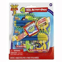 Toy Story 3 Mini Magic Reveal Activity Pads - $4.99