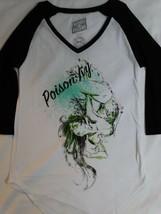 Poison Ivy Batman Dc Comics Womens Junior Raglan Shirt - $18.00+