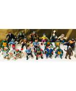 Vintage Playmates Teenage Mutant Ninja Turtles (TMNT) Huge 90+ Figure Lot - $376.20