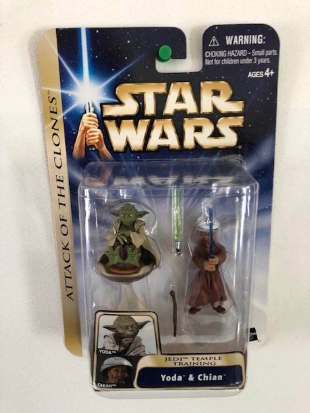 Star Wars Saga Yoda & Chian Jedi Temple Training #15 AOTC 2003