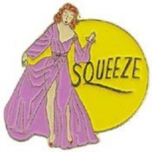 USAF SQUEEZE NOSE ART PIN - $5.93