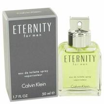 Cologne ETERNITY by Calvin Klein 1.7 oz Eau De Toilette Spray for Men - $28.33