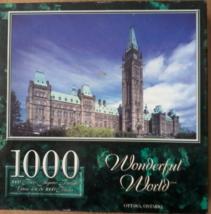 """1000 Piece Jigsaw Puzzle """"Ottawa, Ontario"""" Brand New - $31.23"""