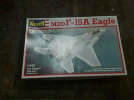 1/100 Revell mdd F-15A Eagle Kit new old stock Complete in Open Box very rare - $19.79
