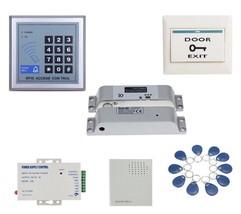 NSEE Q504 12VDC Phone IP Door Intercom Access Control Audio SIP w// Door Bell PBX
