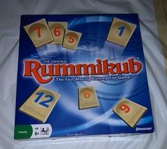 Pressman Rummikub Fast Moving Rummy Tile Game New Some Box Wear - $19.79
