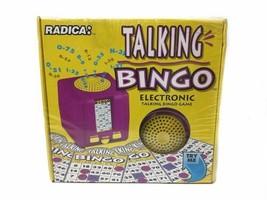 New Sealed Radica Talking Bingo Electronic  Game Model 1111GBBA  - $148.50