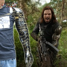 Avengers 3 Infinity War Winter Soldier Arm Cosplay Bucky  Armor Arm Prop... - $49.00