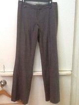 Banana Republic Martin Fit Gray Plaid Dress Pants Womens Size 4 - $12.95