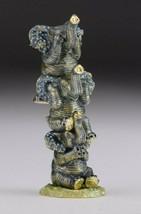 Faberge Elephant trinket box hand made by Keren Kopal & Austrian crystals  - $112.50