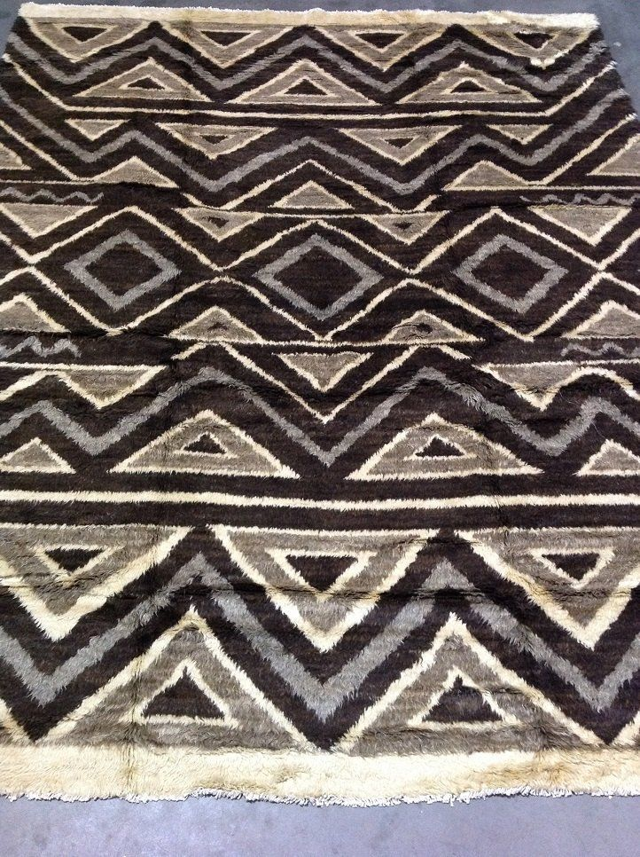 """Safavieh Tribal  All Natural Color Wool Area Rug 9'5"""" x 12' - $791.99"""