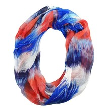 New COLLECTION XIIX Red White And Blue Soft Infinity Scarf Women's Cowl ... - €7,16 EUR