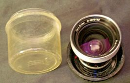 Carl Zeiss Pro-Tessar Lens f=35mm with fitted Zeiss Ikon Case AA-192030 Vintage image 3