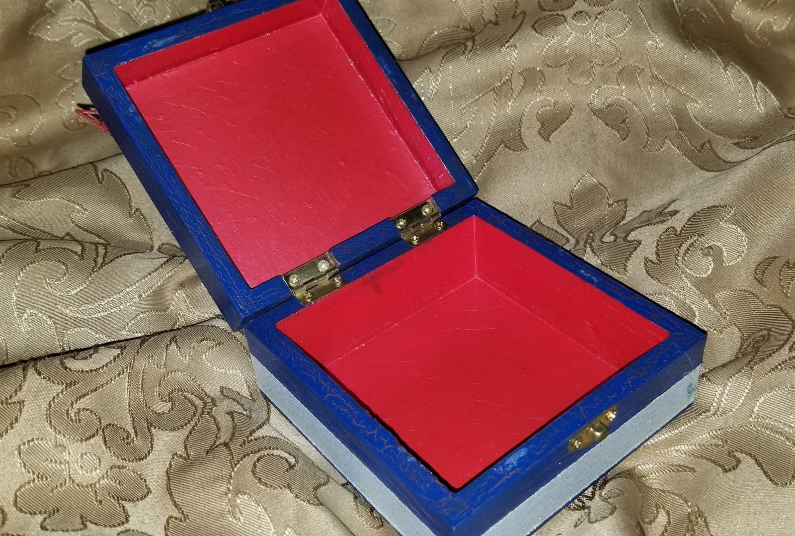 Patriotic Jewelry Box
