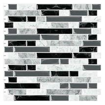 """(Ship from USA)10PCS 12""""x12"""" Sticky Tiles Waterproof Self Adhesive Peel and Stic image 4"""