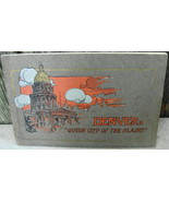 Denver Queen City of the Plains History Pictures Proposed Civic Center - $15.00