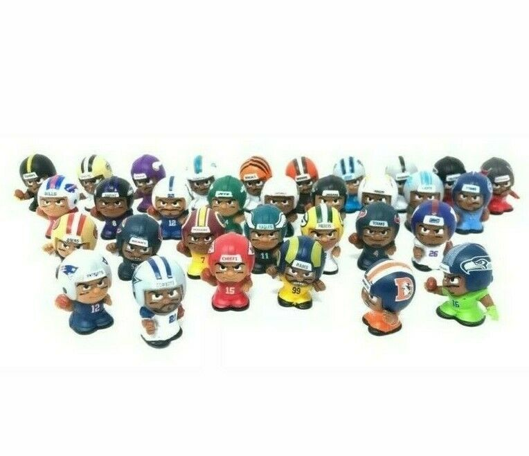 Primary image for 2019 NFL TEENYMATES SERIES 8 FOOTBALL - PICK YOUR FOOTBALL TEAM FIGURE NEW NEW!!