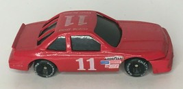 Racing Champions Red Race Car Die Cast 1991 Geoff Bodine #11 Nascar Toy Loose - $5.40