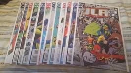 JLA: year one #1-12 (complete mini-series) - $36.00