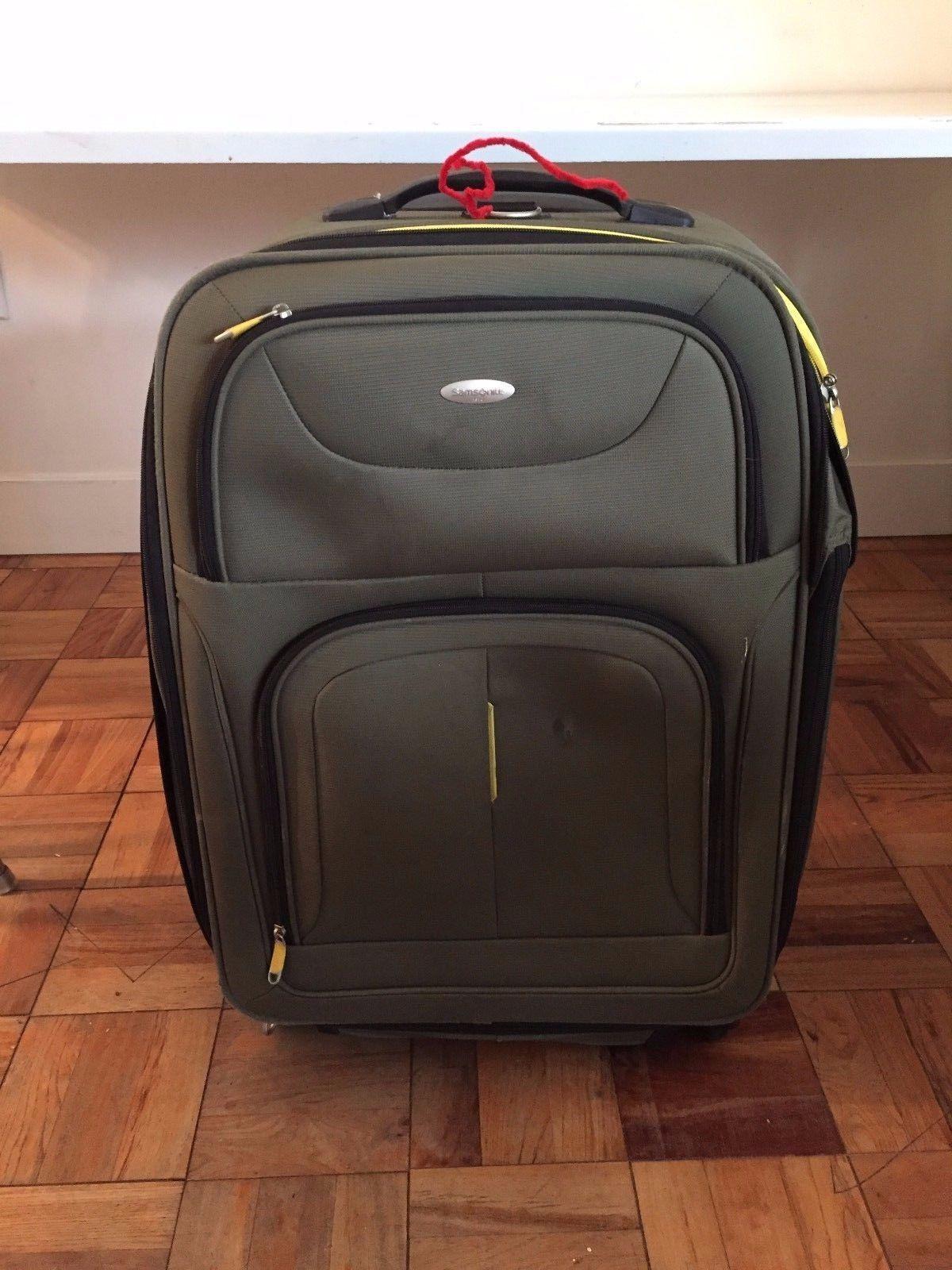 Samsonite Travel Luggage Suit Carry-On Hardside Hardside Suitcase Wheel Trolly