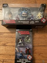 Jada Dungeons And Dragons Die Figurines Lot Of 2 Sets 9 Figures Brand New - $15.83