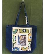 """Large Cat Art Denim Tote Bag  - """"Rudy Asleep"""" - $45.00"""