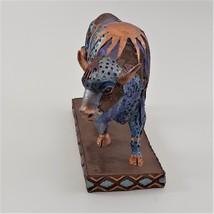 Hand Painted Buffalo Figurine image 6