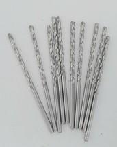 """Guhring M42 Cobalt HSS Drill Bits Size 0.1065 """" x 2 11/16"""" Length Ten Count - $8.99"""