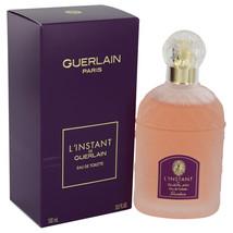 L'instant By Guerlain For Women 3.3 oz EDT Spray - $34.98