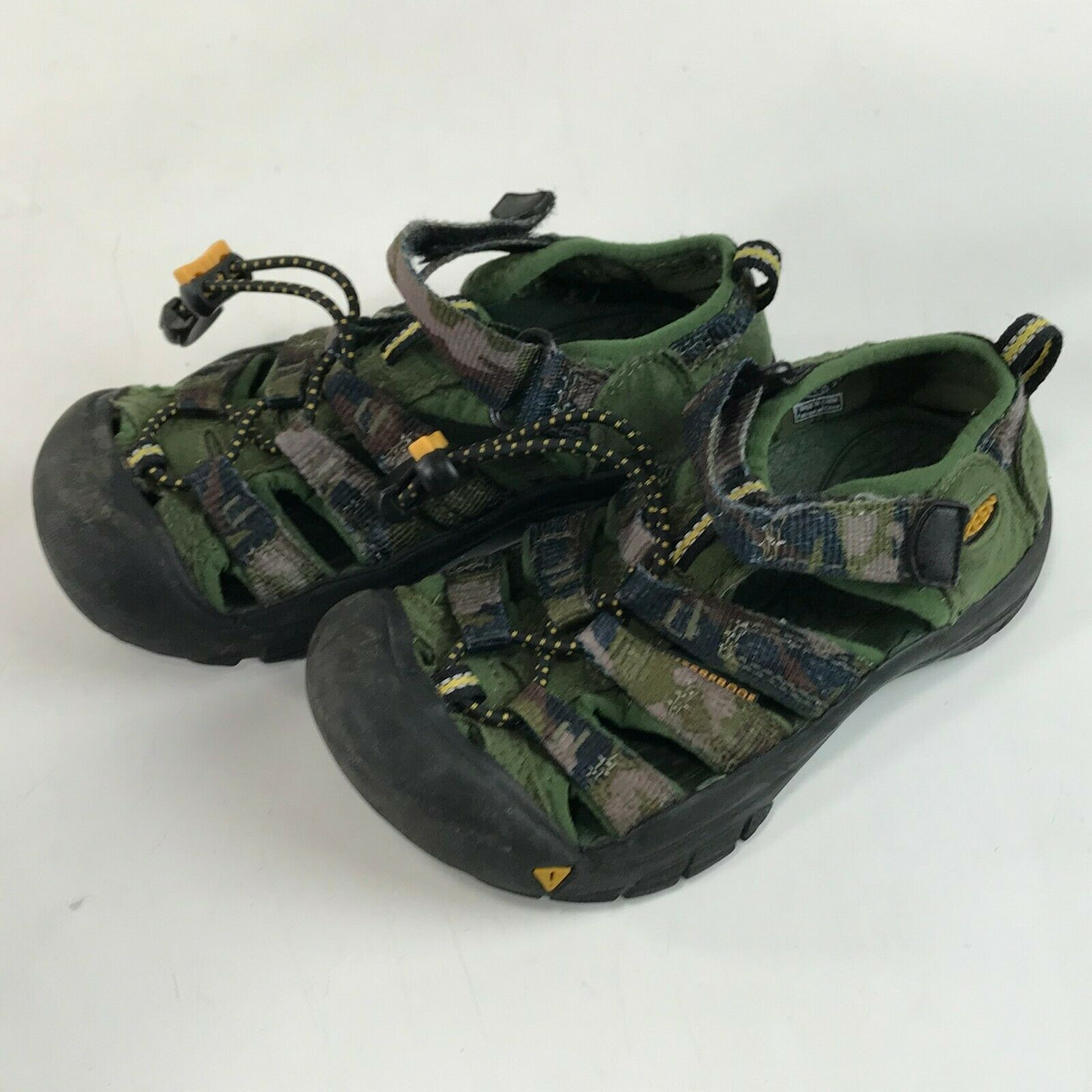 Boys KEEN Newport H2 Water SandalS Green Camo Camouflage, Toddler 11 image 3