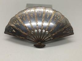 """Nice Vintage Siam Sterling Silver 2.5"""" Fan Brooch - $40.84"""