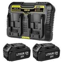 2Pack 20V 6.0Ah Dcb205 Replacement For Dewalt 20V Battery Max Xr Compa - $158.99