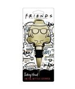 NEW Friends TV Show Turkey Head Metal Novelty Wine Bottle Stopper Thanks... - $14.84