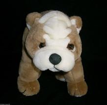 "16"" Vintage Ty 1990 Puppy Dog Winston Tan Wrinkles Stuffed Animal Plush Toy Htf - $23.89"