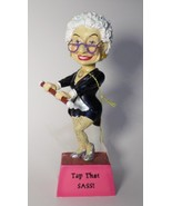 Biddys Figurine 2010 Tap That Sass  # 12884 Westland bobble head dance BF7 - $21.77