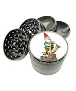 Gnomes D12 Titanium Grinder 4 Piece Magnetic Hand Mueller Folklore Garde... - $17.77