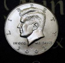 2003-D BU Kennedy Half Dollar Satisfaction Guaranteed! - $2.39